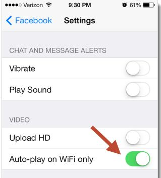 Disable Automatically Plays Videos for iphone and ipad