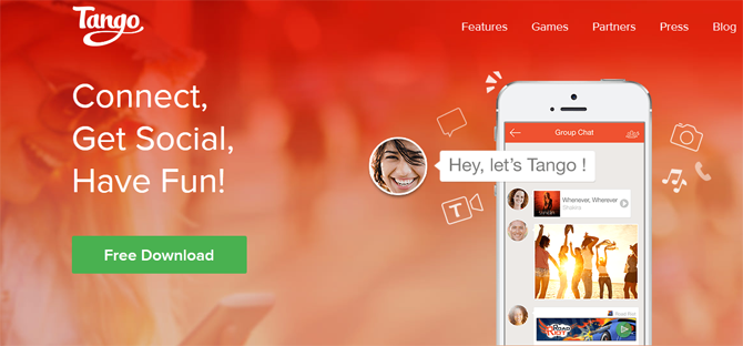 The Tango app for your PC