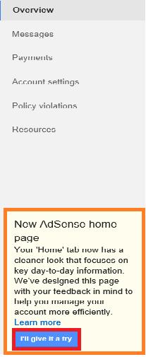 google adsense layout