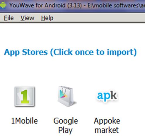 How to Run/Install Android Apps on Computer Using YouWave