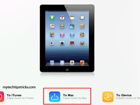 move files from mac to iPad