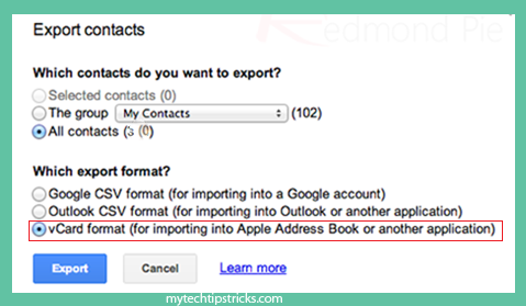 sync google contacts to icloud (3)